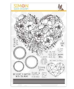 Simon Says Stamp Botanical Heart