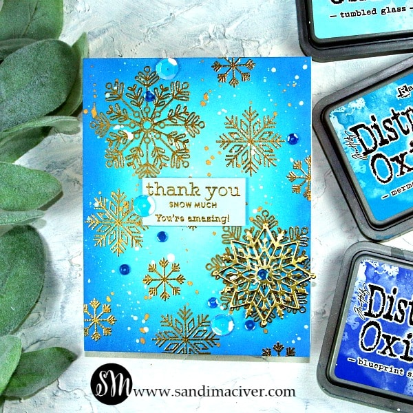 Distress Oxides Color Combos and Cards# 2