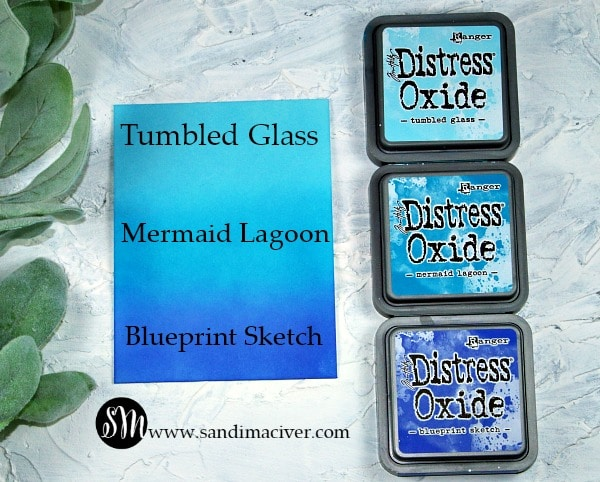 Distress Oxides Color Combos and cards #2