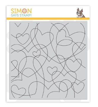 Heart to SImon Says Stamp heart background stamp