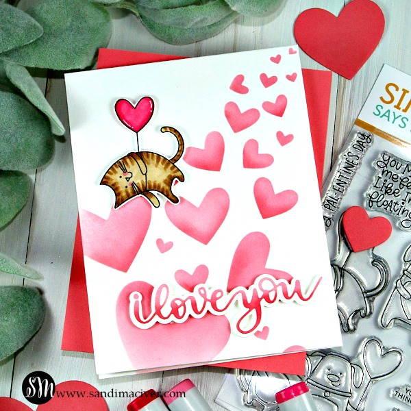 Simon Says Stamp Pawsome Love