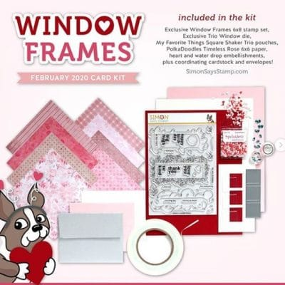 SSS February 2020 Card Kit Window Frames