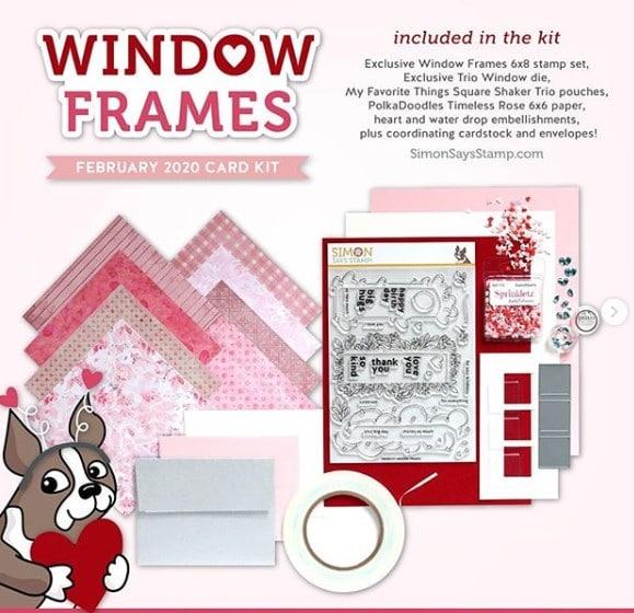 Window Frames card kit