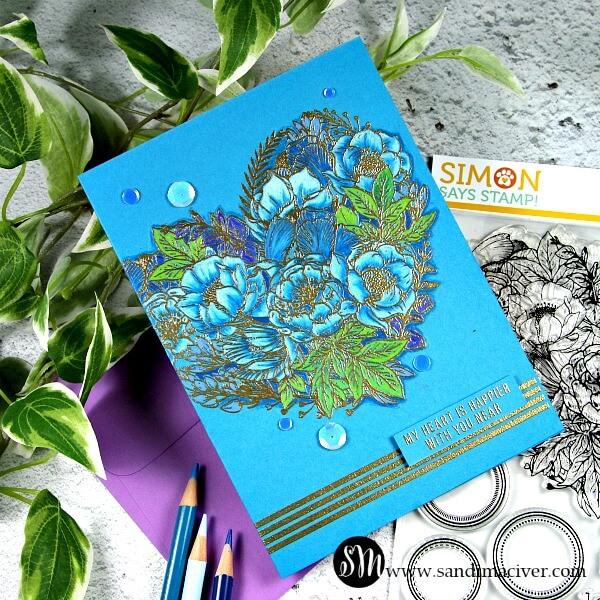 Simon Says Stamp Botanical Heart