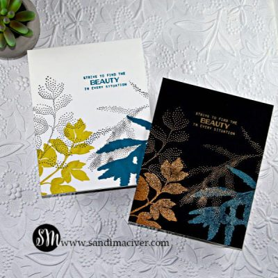 cardmaking with Altenew Dot Botanical