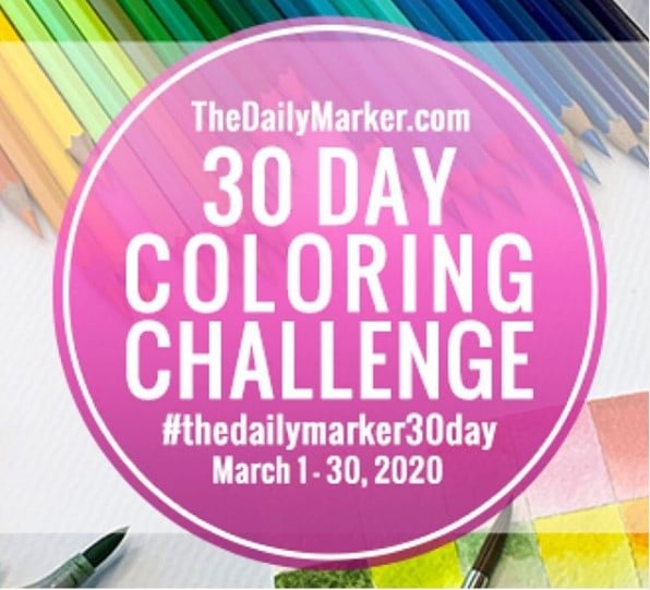 the daily marker 30 day color challenge
