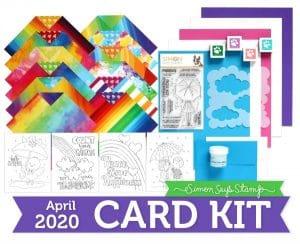 April Card Kit Follow the Rainbow