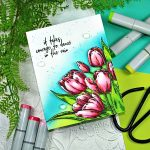 Picket Fence March Release Early Tulip Bouquet 2