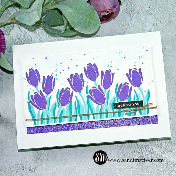 Simon Says Stamp Layered Tulips