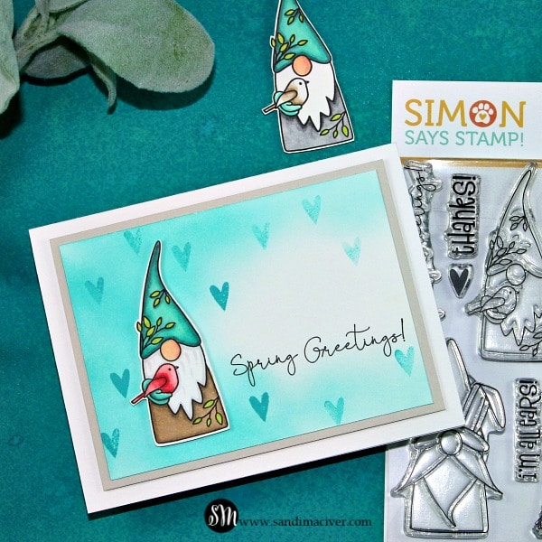 Simon Says Stamp Spring Gnomes Boy Gnome