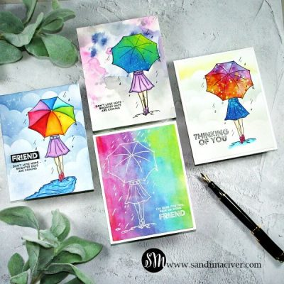 NEW VIDEO – April Follow The Rainbow Card Kit