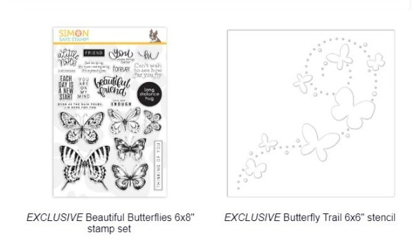 Simon Says Stamp Beautiful Butterflies Card Kit