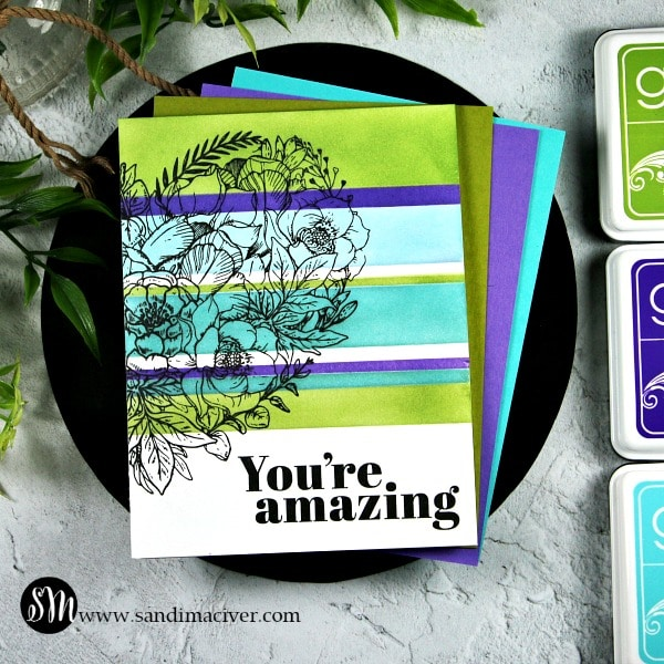 Card Making Make Your Own Stripes