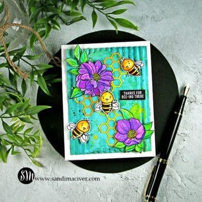 Simon Says Stamp Bee Yourself Thank you