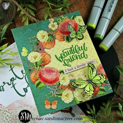Simon Says Stamp Beautiful Butterflies