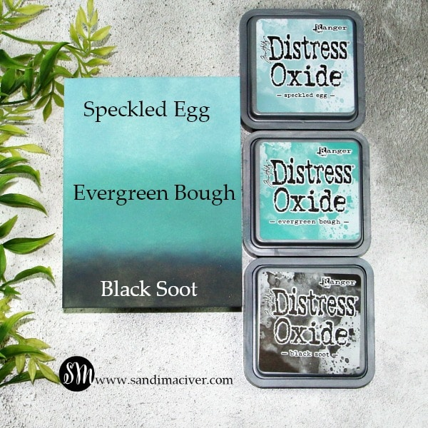 Distress Oxides Color Combos and Cards #4