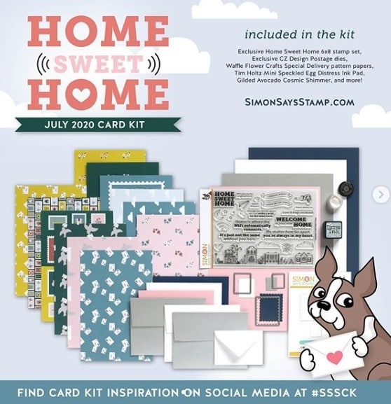 Simon Says Stamp Home Sweet Home July Card Kit