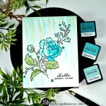 Multi Layer Stamping with Altenew Handpicked Bouquet