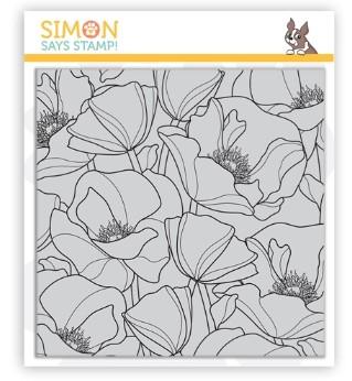 SImon Says Stamp Poppies Background