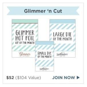 Spellbinders Glimmer n Cut Club