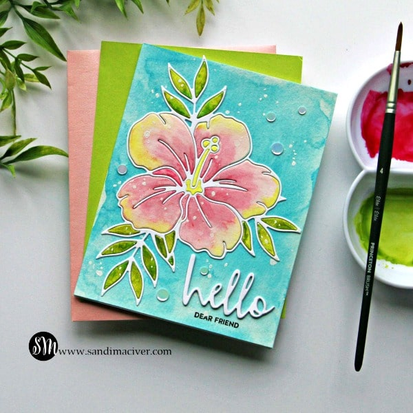 Simon Says Stamp Hibiscus Bloom Die