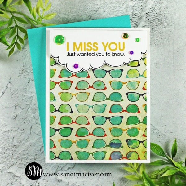 Simon Says Stamp Just Miss You Card Kit