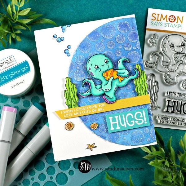 Simon Says Stamp Tenta-Cuddles