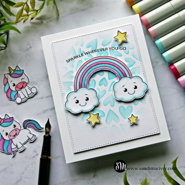 Simon Says Stamp Unicorn Love