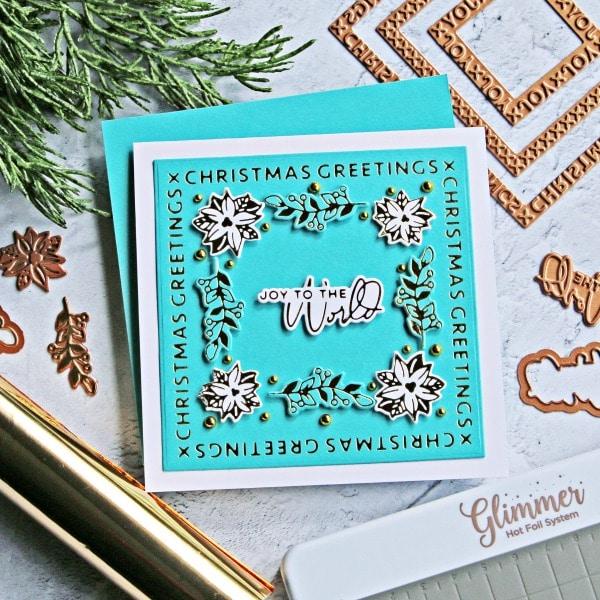Spellbinders Christmas Essential Glimmer Squares 2