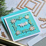 Spellbinders Christmas Essential Glimmer Squares