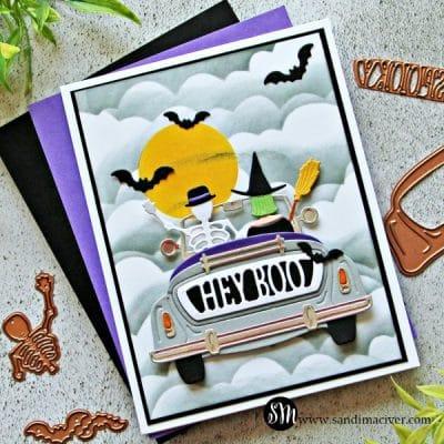 Spellbinders Halloween Sunday Drive