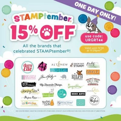 15% OFF at SIMON SAYS STAMP