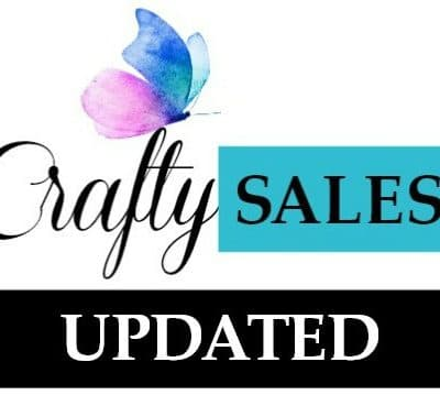 Crafty Sales and New Releases Update