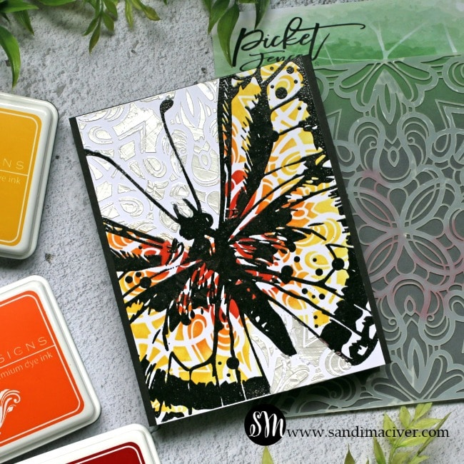 Picket Fence Studios Swallowtail Beauty