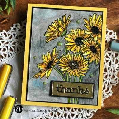 Simon Says Stamp Daisy Bouquet