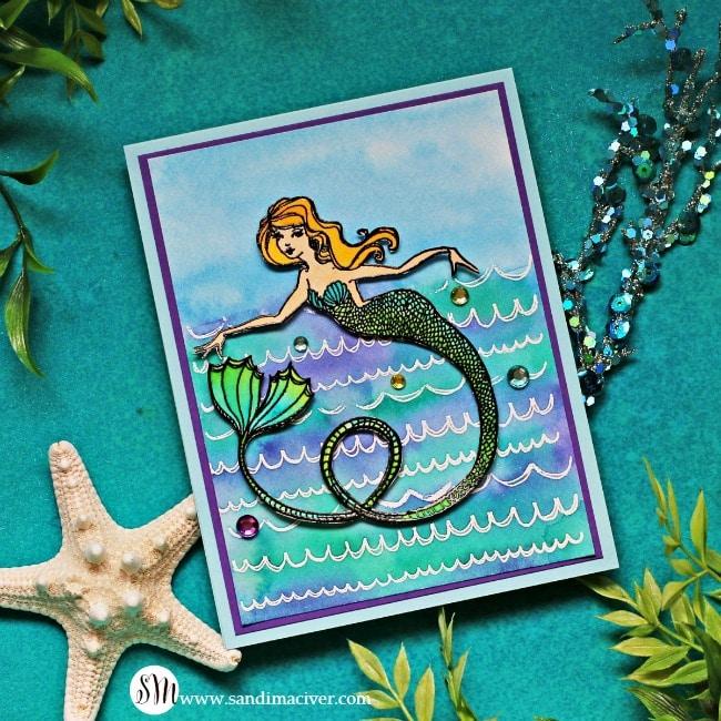Spellbinders Jane Davenport Glorious Mermaid