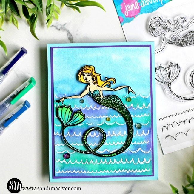 Spellbinders Jane Davenport Glorious Mermaids