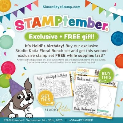 Simon Says Stamp Studio Katia Collaboration stamp set
