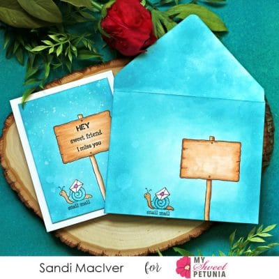 Tonic Studios Envelope Stamp Set