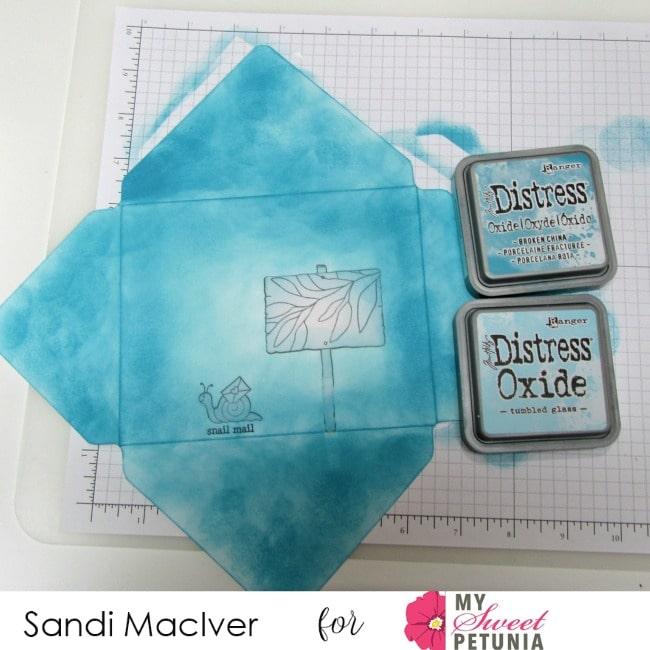 Tonic Studios Envelope Stamp Set