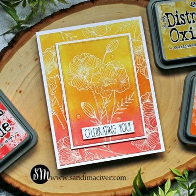 Distress Oxide Ink Blends Fall Colors