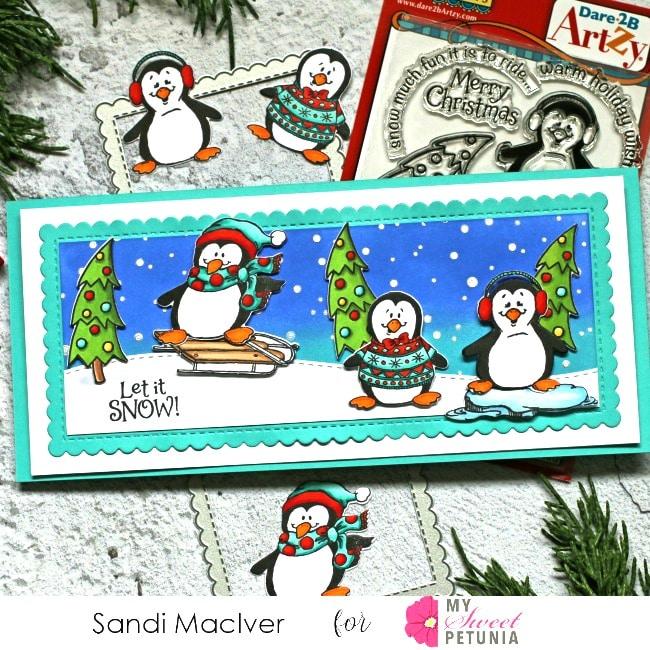 Dare 2B Artsy Penguin Fun