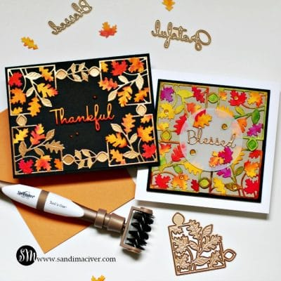 Spellbinders October Small Die of the Month