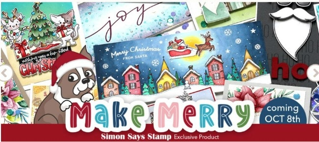 Simon SAys Stamp Make Merry