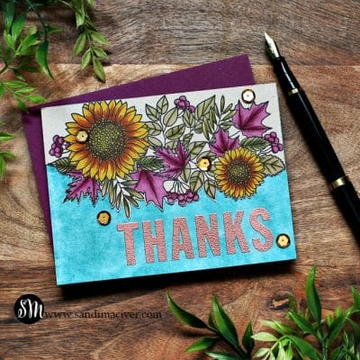 Simon Says Stamp Big Thanks Autumn Card Kit