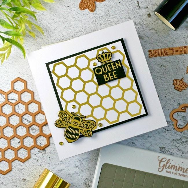 Spellbinders Becca Feeken Sweet Cardlets Bee 650