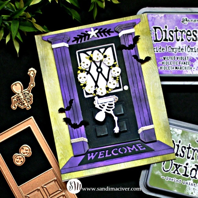 Spellbinders October Large Die of the Month Halloween