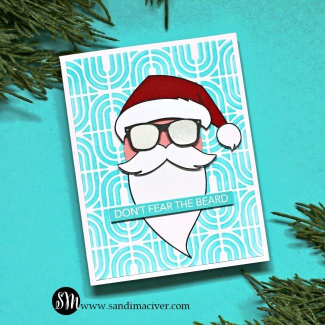 The Man The Myth - Cool Santa