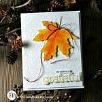 Simon Says Stamp Large Stitched Maple Leaf
