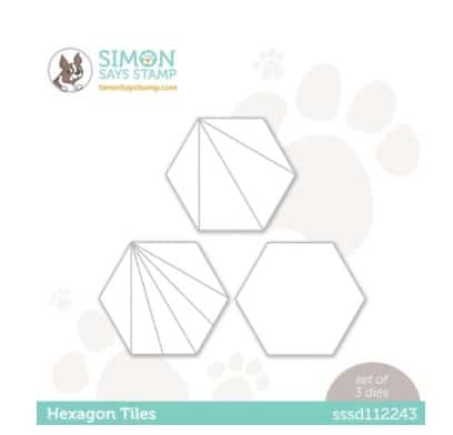 SImon Says Stamp Hexgon Tiles